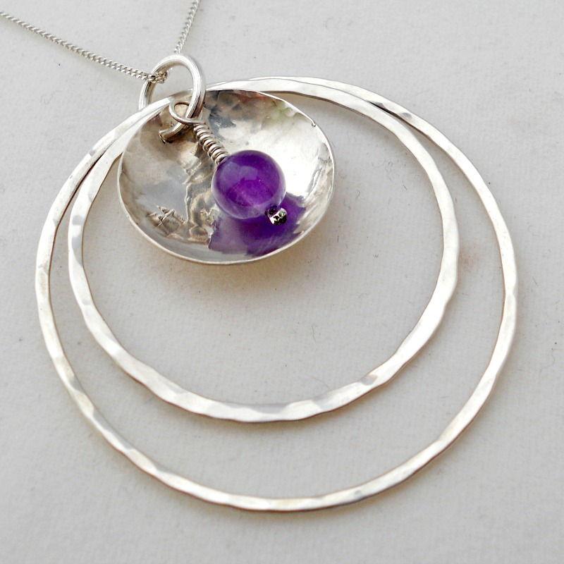 Example of pendant made at workshop