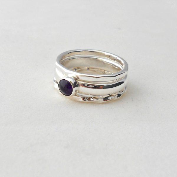 Set of 3 stacking rings