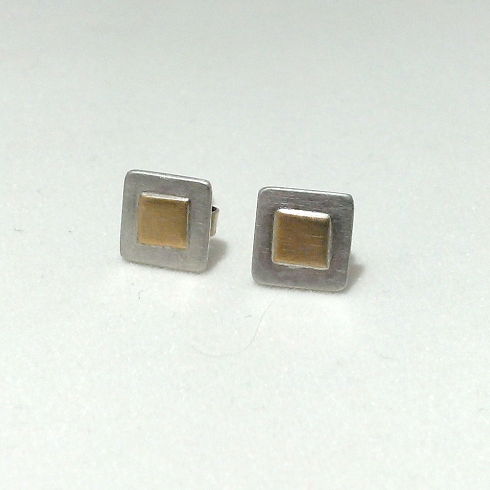 Square Ear Studs