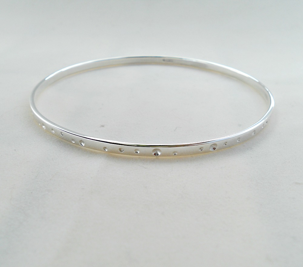 silver large heavy product stamped bangles george bangle sterling bracelet begay