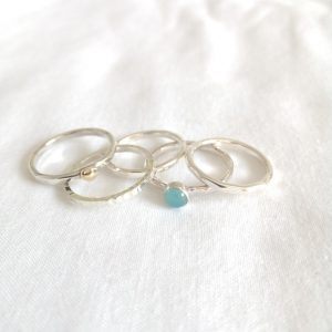 Selection of stacking rings